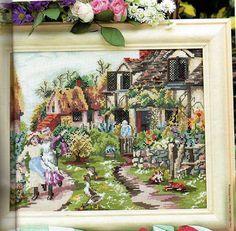 quadro+menina+jardim.jpg (904×886)