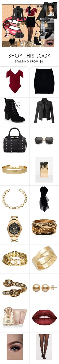 Lorena by aline-sklws on Polyvore featuring mode, Roland Mouret, LE3NO, Boohoo, Journee Collection, Alexander Wang, Michael Kors, Amrita Singh, Chanel and Cartier