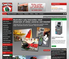 Australia's most popular #online #store for #action #cameras and accessories. Incorporating #Flexe #Shopping Cart #ecommerce #software www.flexeshopping... and using many of the awesome features.
