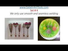 Gelatin Art Tools set