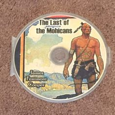 The Last of the Mohicans by James Fenimore Cooper MP3 (CD, Audio Books) New
