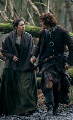 Claire & Jamie FraserOutlander