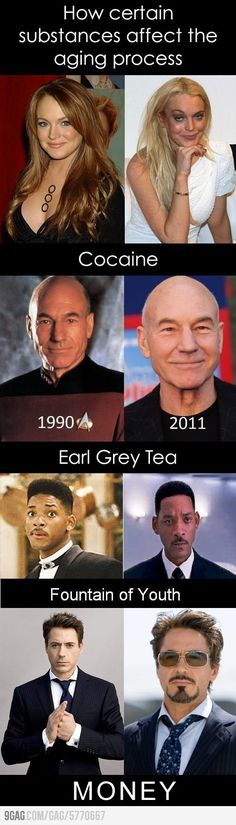 The Best Funny Pictures GIF and MEMES about Funny - How some substances affect the aging process. Best MEME and GIFS about Funny - How some substances affect the aging process and Funny Pictures Dc Memes, Funny Memes, Jokes, Puns Hilarious, Funny Cute, The Funny, Daily Funny, Aging Process, Celebs
