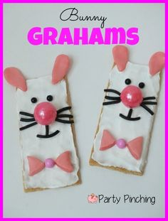 Bunny Graham Cracker Tutorial