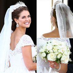 O casamento da Princesa Madeleine.