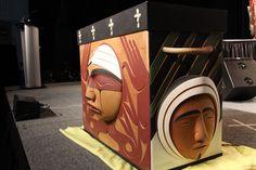TRC Bent wood box Inuit face - Google Search Bent Wood, Wood Boxes, Google Search, Face, Wood Crates, Faces, Facial