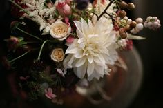 Emerson Merrick does amazing things with flowers!  I love it.