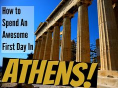 How to spend an awesome first day in Athens