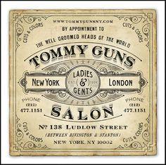 Vintage Font/Label