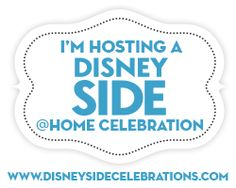 I get to host a #DisneySide  home celebration!! Here is what came in my box!! #sponsored