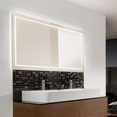 Villeroy U0026 Boch Finion LED Spiegel Mit Indirekter Beleuchtung