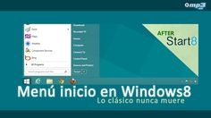 Utiliza el botón inicio en Windows 8 mediante Start8 - Si eres de los que no se adaptan fácilmente a los cambios, Start8 es tu salvación, ya que esta aplicación permite usar el clásico botón inicio de las versiones anteriores de Windows. ¡Adelante! http://blog.mp3.es/start8-habilitar-menu-inicio-windows-8/?utm_source=pinterest_medium=socialmedia_campaign=socialmedia