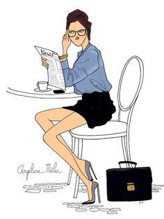 Angeline Melin illustrice