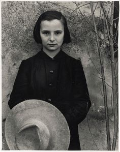 Paul Strand (1890-1976), Tailor's Apprentice, Luzzara, Italy, 1953. Gelatin silver print, printed 1950s. Credited, titled and extensively annotated by Hazel ...