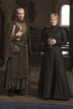 You know shit's just got real when Mycroft Holmes and Cersei Lannister begins to judge people together