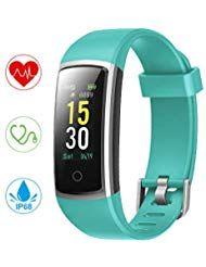 Yonmig Fitness Armband Wasserdicht Ip68 Fitness Tracker Mit Pulsmesser Blutdruckmessung 096 Zoll Farbbildschirm Akti Fitness Armband Hufttasche Fitness Tracker