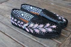 Paisley TOMS shoes