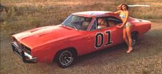 daisy in her dukes 1969 Dodge Charger, General Lee, Star Wars, Car Girls, Good Old, Hot Cars, Mopar, Ferrari, Vehicles