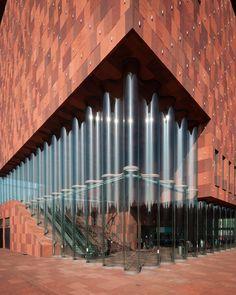 Museum Aan de Stroom - Antwerp, Belgium - By: Architect Neutelings Riedijk - MAS