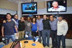 Luis Capurro en el cuarto aniversario de Radio emeleXista