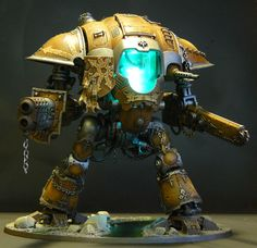 Imperial Knight Chaos Conversion by SouthPawStudio on DeviantArt