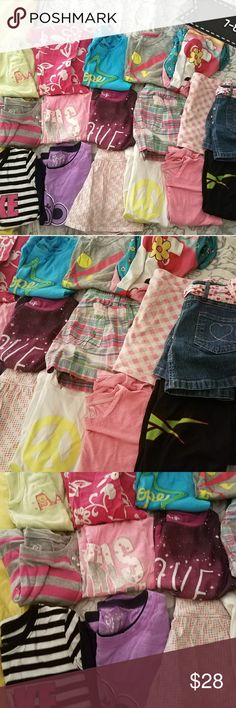 Girls Clothes (7-8) OVERALL IN VGUC - Some may have stains or wash wear. Some have never been worn. Shirts & Tops