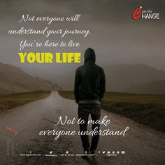 Not everyone will understand Your journey  You are here to live  YOUR LIFE  Not to make everyone Understand ✌✌✌🙏🙏👌👌  #RiteshKSharma #IAmTheChange #SuddharJao #legalmitra #PublicSpeaker #Morninginspiration #MorningQuotes #HappyToday #Jaipur #Rajasthan 🇮🇳  www.facebook.com/legalmitra www.facebook.com/suddharjao www.facebook.com/RiteshKSharamAdv Morning Messages, Morning Quotes, Best Quotes, Life Quotes, Morning Inspiration, Happy Today, Live Your Life, Understanding Yourself, Jaipur