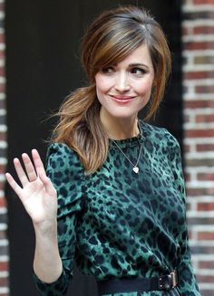 I want pretty: Make up & Hair -Rose Byrne !