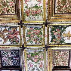 Magnificent Portugal - via Talk-A-Vino 24.05.2015 | A beautiful country with wonderful people, great wines and delicious food. Photo: Ceiling at St Gonçalo Church