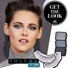 Get the 'Kristen Stewart' look met de Eylure Volume lashes # 100