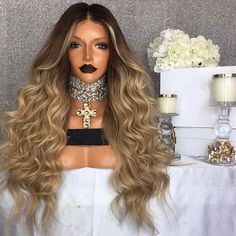 FALONE Perruque Lace wig Ondulée Wigs, The Unit, Cap, Product Description, Long Hair Styles, Instagram Posts, Customer Support, Tracking Number, Beauty