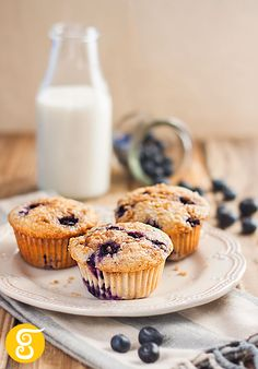 My homemade blueberry muffins