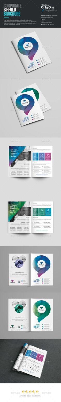 BiFold Brochure  — PSD Template #web #210x297 • Download ➝ https://graphicriver.net/item/bifold-brochure/18282305?ref=pxcr