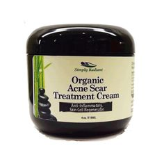 Organic Acne Scar Treatment Cream - Tackle discoloration and scars for gorgeous skin with my supercharged formula made with Organic Shea Butter, Organic Rose Hip Oil and more powerful skin healing ingredients.