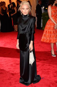 Mary-Kate Olsen at the Met Costume Institute Gala in The Row #LBD
