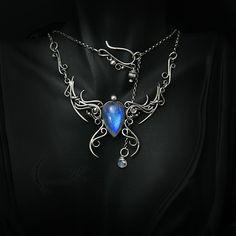 MESSAQTULH - silver and moonstone. by LUNARIEEN.deviantart.com on @DeviantArt