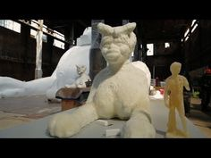 """VIDEO - Kara Walker - the making of a large sculptural installation made of sugar, """"A Subtlety, or the Marvelous Sugar Baby"""", Kara Walker, Walker Art, African American Artist, American Artists, History Of Sugar, Sugar Baby, Extended Play, Popular Culture, Black Art"""