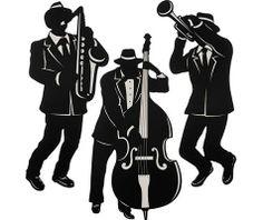 Jazz Musician Mardi Gras Decorations - Party City