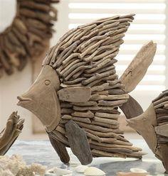 driftwood fish on ebay