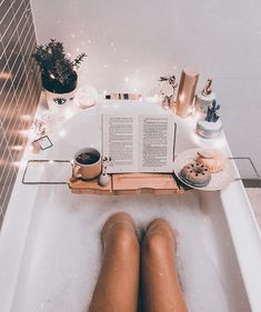 Self Care Rituals Inspiration Take a dip into relaxation with some gorgeous bath inspiration for your pamper days! Dream Bath, Bathroom Inspo, Bathroom Stuff, Bathroom Goals, Relaxing Bath, Bubble Bath, Spa Day, Bath Time, My Room