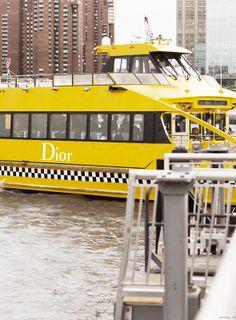 Dior Cruise Show, Water Taxi / Garance Doré
