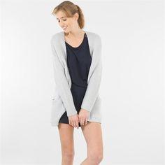 Gilet, Collection Printemps-Eté 2015 Gilet Long, Pulls, Blazer, Sweaters, Jackets, Fashion, Spring Summer 2015, Polo Neck, Down Jackets