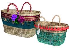 Veja as bolsas da parceria entre Maria Mendes e Nannacay. As 18 peças foram feitas à mão