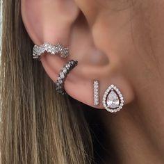 Diamond Earrings, Fancy, Tattoos, Jewelry, Fashion, Amethyst, Sapphire, Silver, Ear Rings