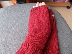 Luxury ladies fingerless  gloves   Pure wool gloves by beaulyben