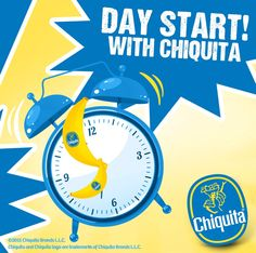Start your day right with #ChiquitaBananas!