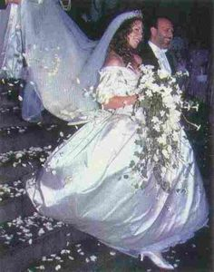1993 Wedding Of Mariah Carey And Tommy Mottola Celebrity Photos Dresses