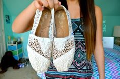 I really want white toms