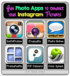 Photo Apps and Instagram