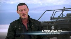LUKE EVANS - FAST AND FURIOUS 6 OWEN SHAW (BLU RAY EXTRA DREAM GUY